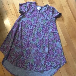 Size 8 Lularoe Scarlett dress